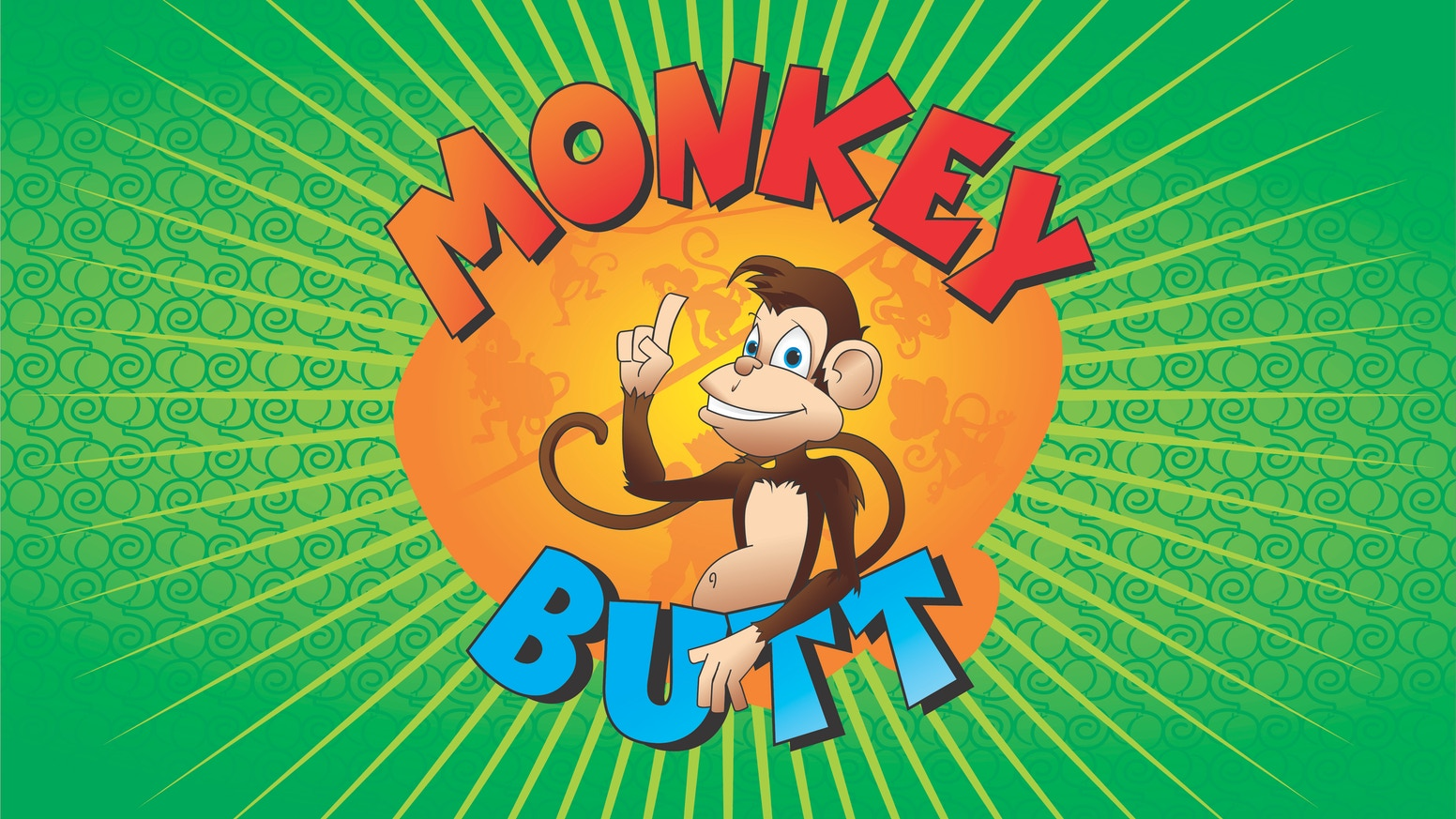 NOW WITH AWESOME UPGRADES!   The fun and quirky game for 2-8 players, where there is no winner, only a Monkey Butt!