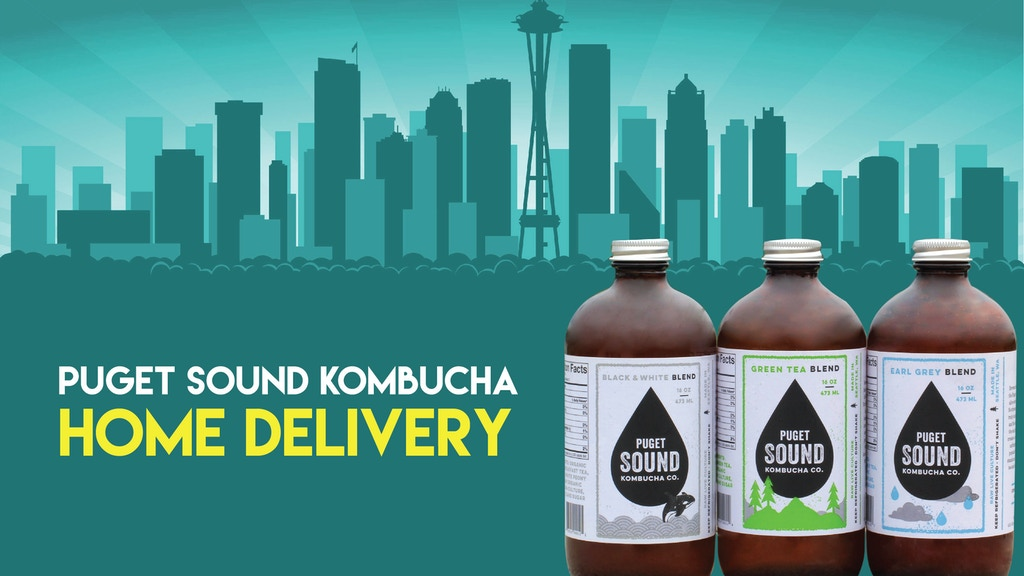Puget Sound Kombucha Co. Home Delivery project video thumbnail