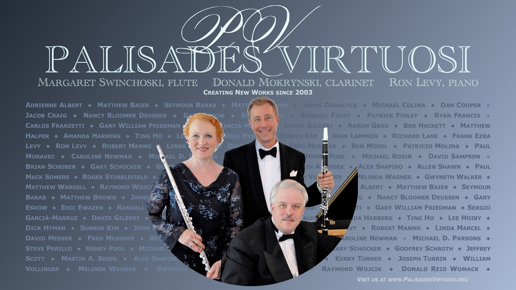 PALISADES VIRTUOSI - New American Masters, Volume 6 project video thumbnail