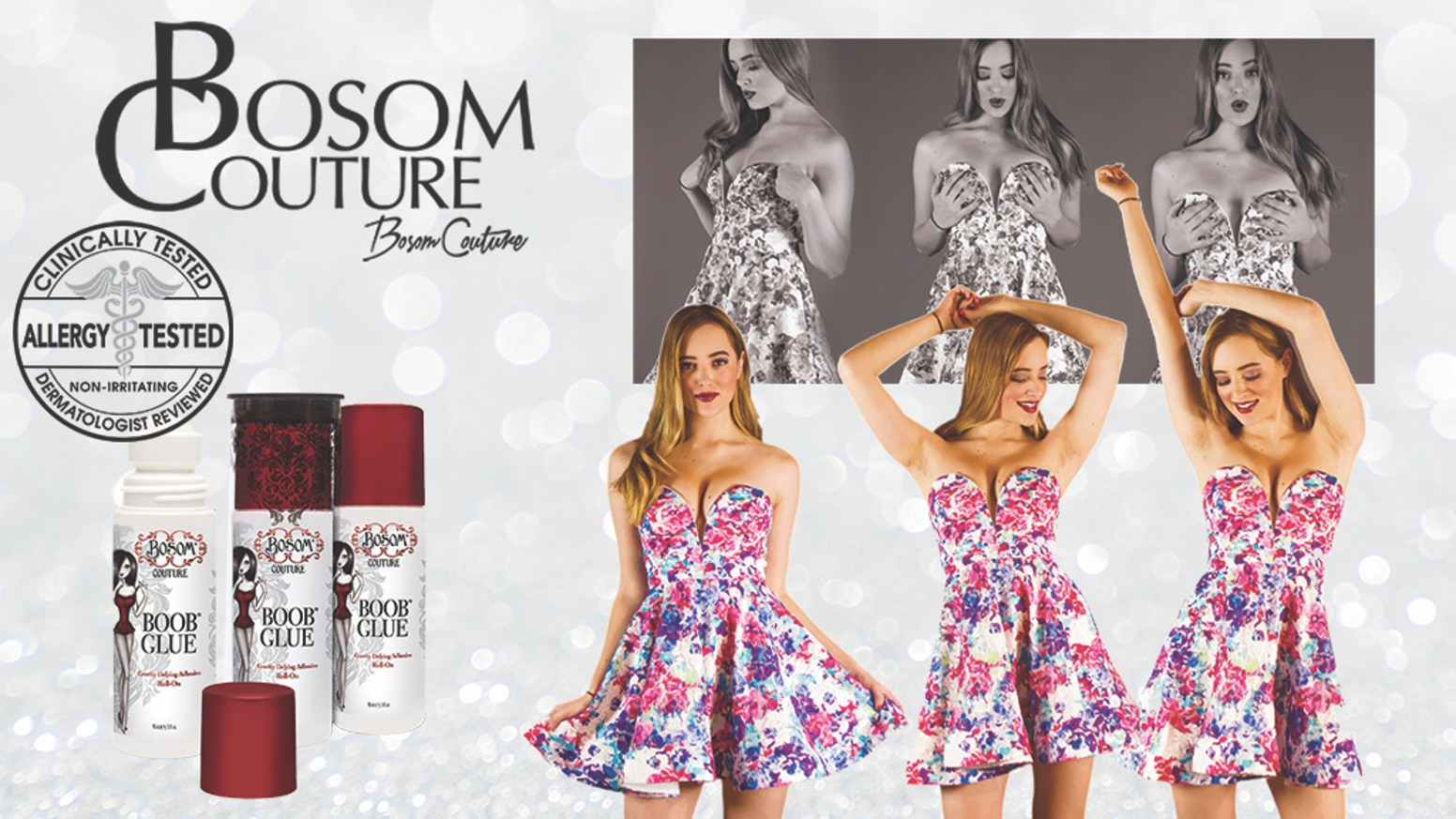 Bosom Couture Boob Glue® A Cleavage Make-Over In A Bottle