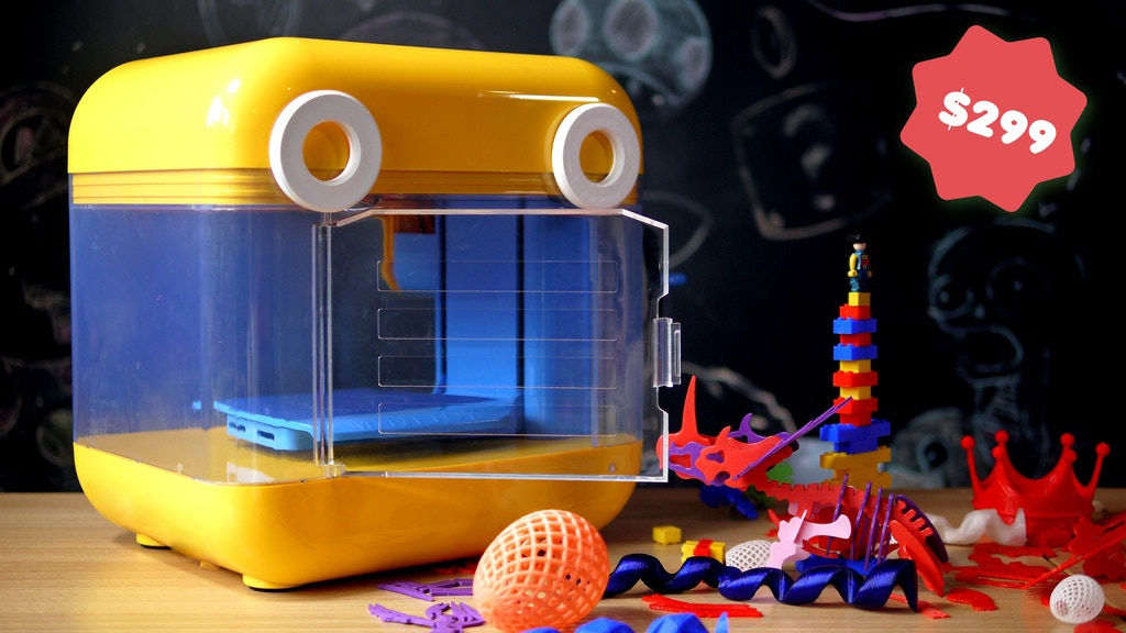 MiniToy 3D Printer project video thumbnail
