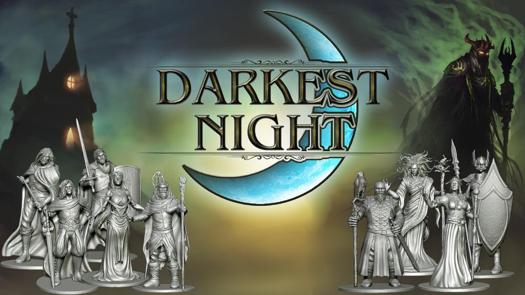 Darkest Night: Second Edition miniatura de video del proyecto