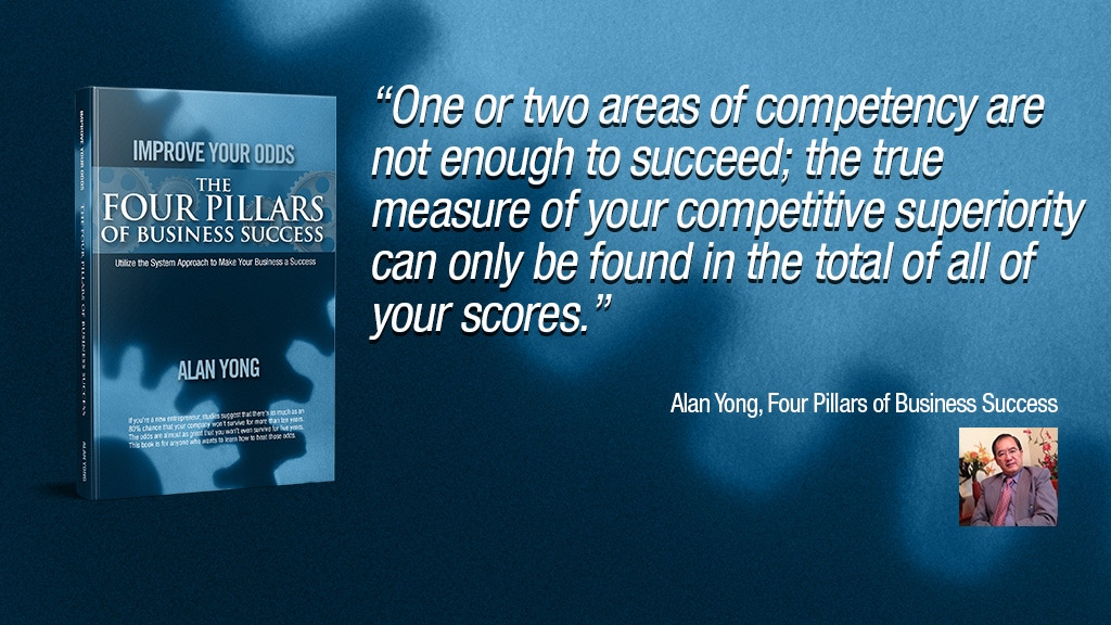 Project image for The Four Pillars of Business Success - Book by Alan Yong