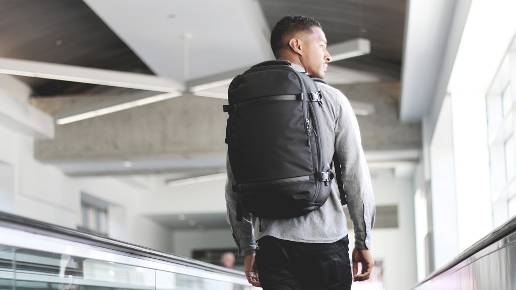 Aer Travel Pack  The Ultimate Carry-on Backpack project video thumbnail.  Play a9f0310ff0
