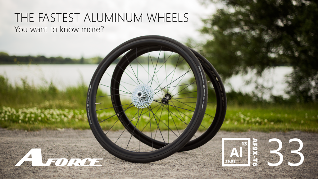 Al33, The fastest aluminum bicycle wheels project video thumbnail