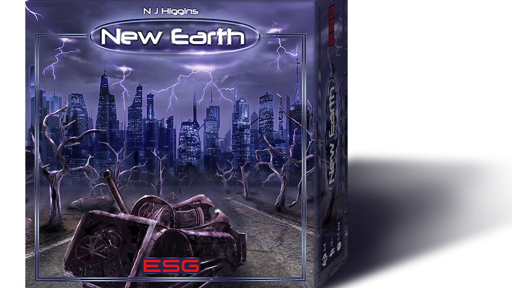 New Earth - The Board Game project video thumbnail