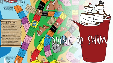 Drink Or Swim 4 39 X 3 39 Interactive Group Party Game By Drink Or Swim Llc Kickstarter