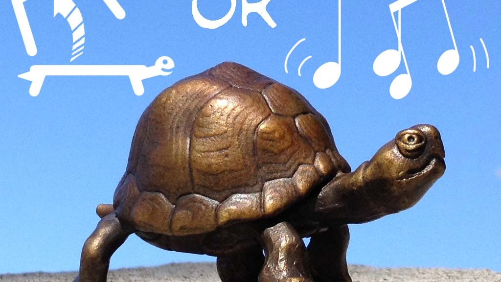 Bronze box turtle with a secret compartment, or a bell. project video thumbnail