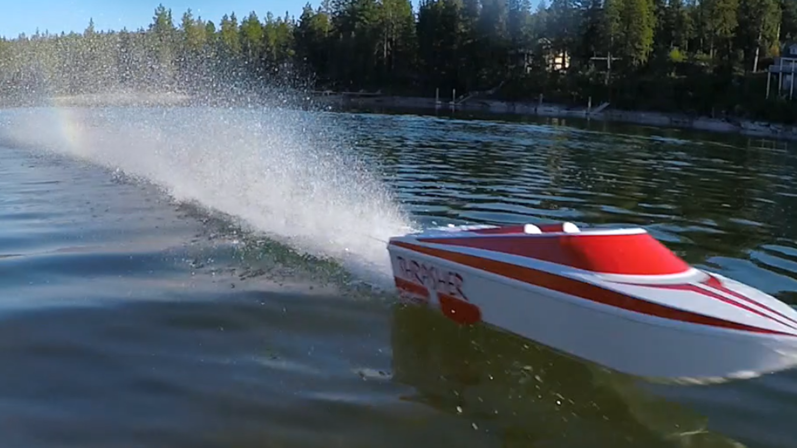 Thrasher Jet Boat by Streamline RC — Kickstarter