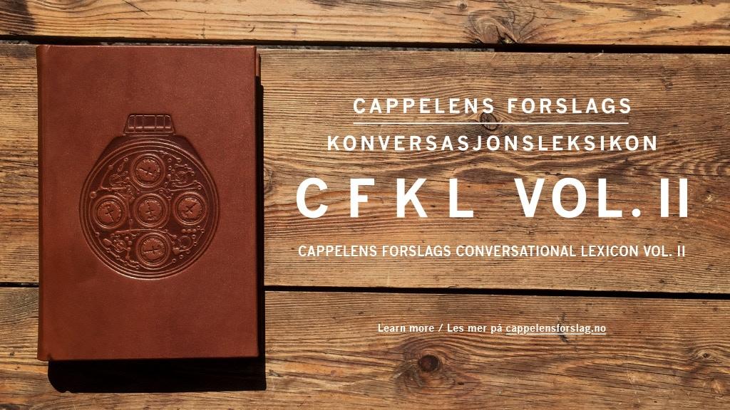 Cappelens Forslags konversasjonsleksikon: CFKL Vol. II project video thumbnail