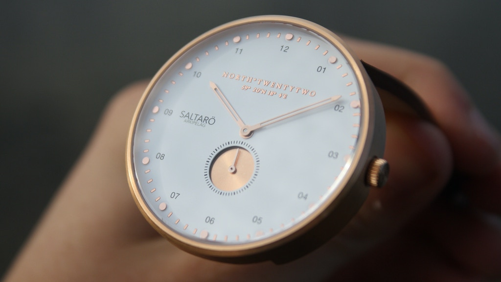 ARKIPELAG | Swedish minimalistic watch collection project video thumbnail