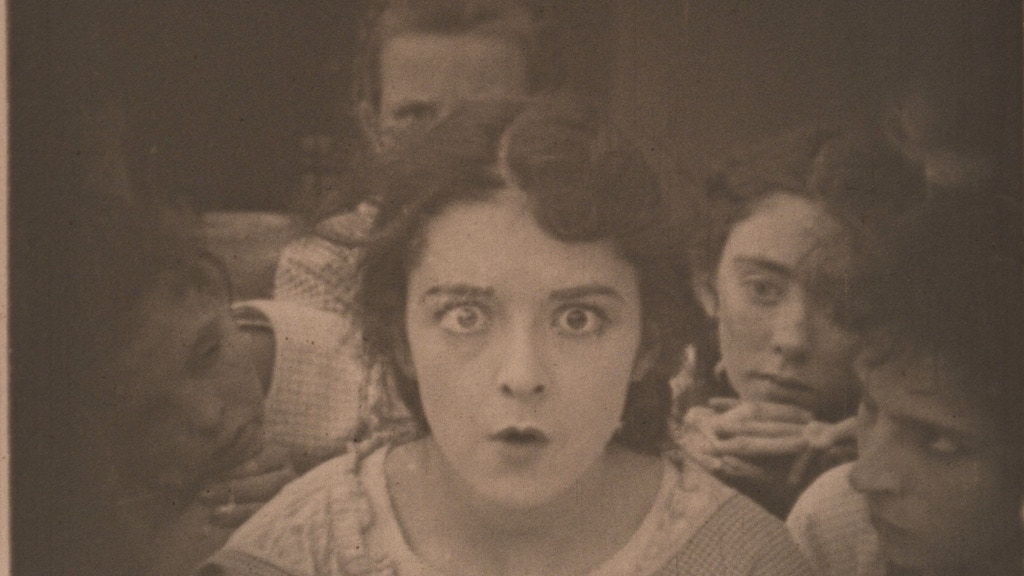 Colleen Moore, JW Riley, Little Orphant Annie silent film! project video thumbnail