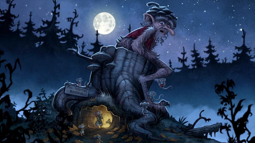 The Strolltroll (Norw: Rallskanken) - a Children's Book project video thumbnail