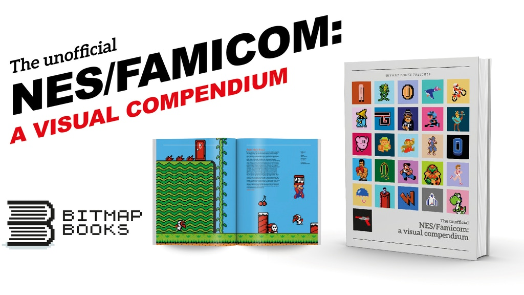 Bitmap Books are proud to present an unofficial visual tribute to the NES and Famicom.