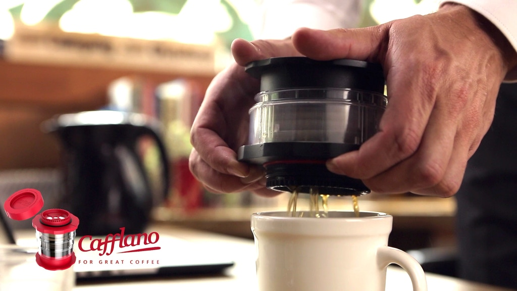 Cafflano® Kompact, a Simple Pressing Hot & Cold Brewer project video thumbnail