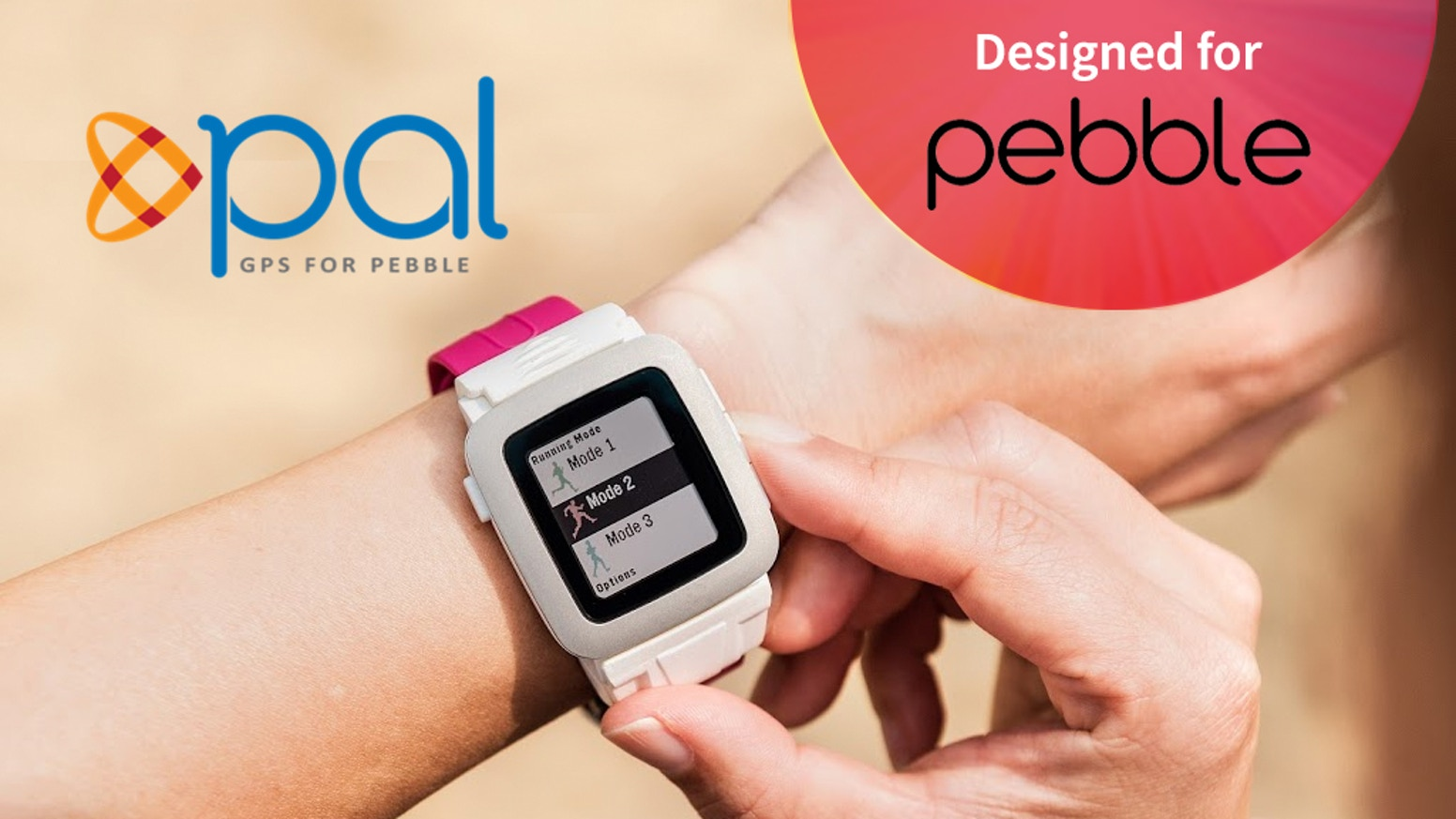 Pal is a revolutionary GPS and battery extender smartstrap for Pebble Time, Pebble Time Steel and Pebble Time 2