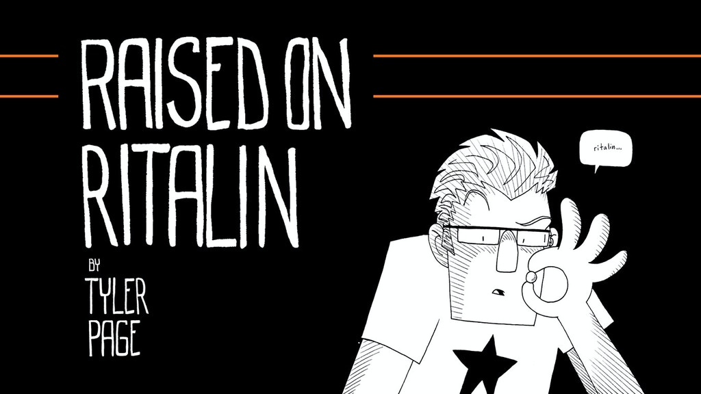 Raised on Ritalin - A Graphic Novel/Memoir about ADHD project video thumbnail