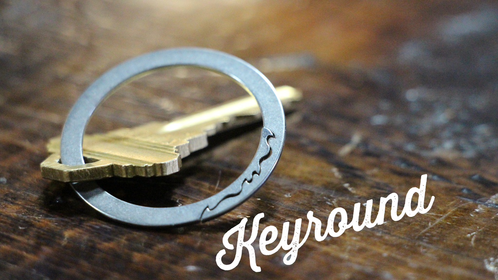 Keyround - a better key ring project video thumbnail