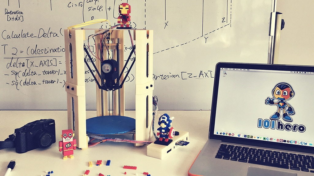 101Hero: The World's First $49 3D Printer project video thumbnail