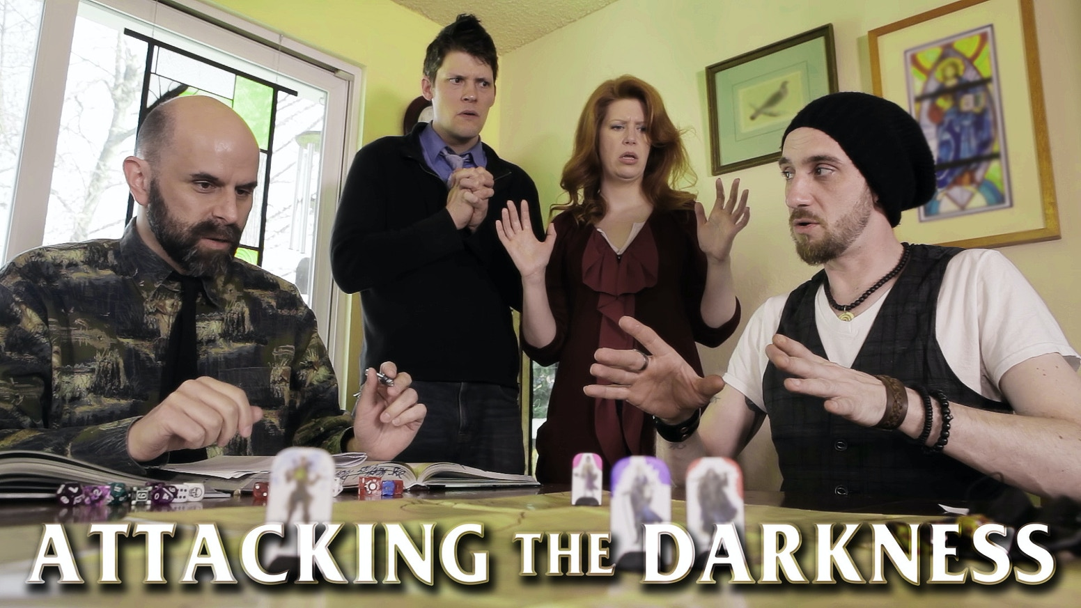 A comedy mockumentary about the people who want to ban tabletop gaming and their epic quest: to produce the ultimate anti-RPG movie.
