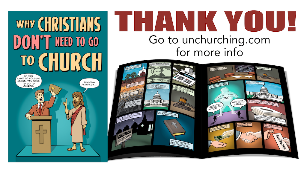 Unchurching Comic Book project video thumbnail