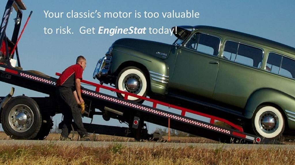 EngineStat - Invisible diagnostics for your classic's engine project video thumbnail