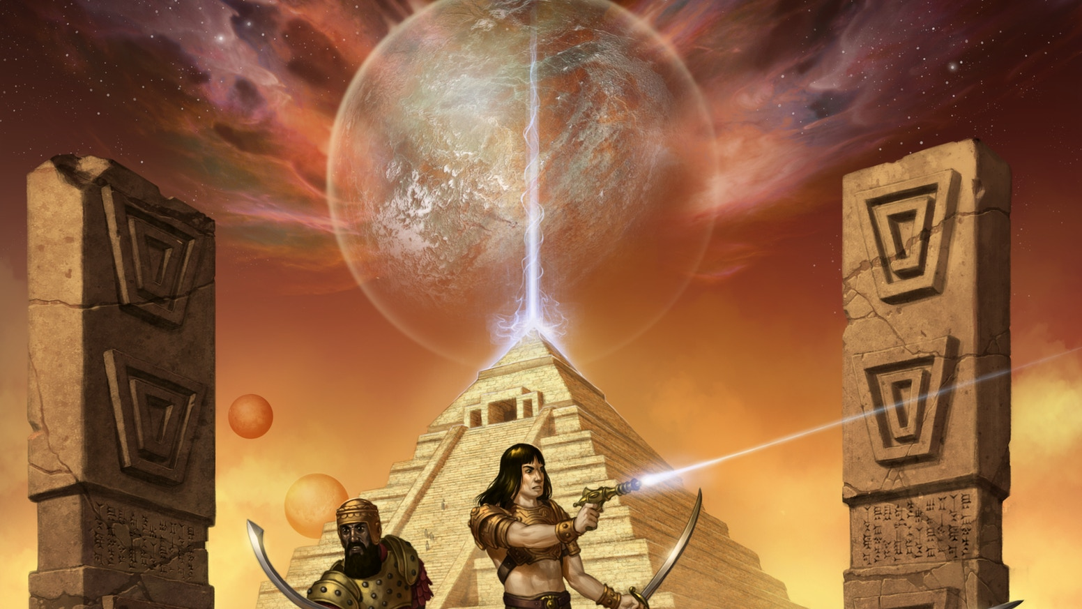 ANKUR-kingdom of the gods is a new sci-fi, table top role playing game based on Sumerian mythology, and the ancient alien theory.