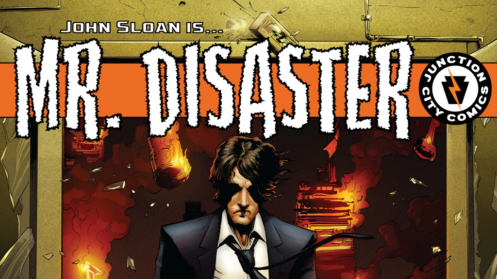 Project image for Mr. Disaster: Issue #1