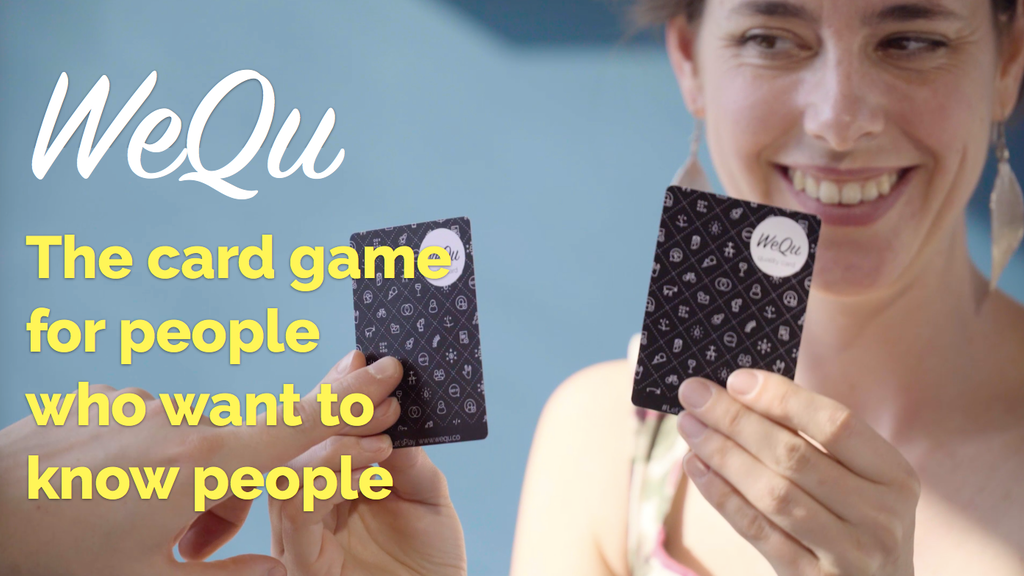 WeQu - The card game for people who want to know people project video thumbnail