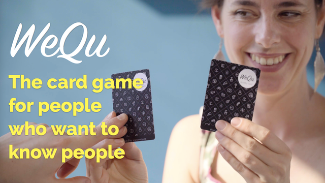 wequ the card game for people who want to know people by oh kwon kickstarter. Black Bedroom Furniture Sets. Home Design Ideas