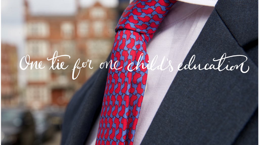 Reddendi - Luxury Neckties that Give Back project video thumbnail