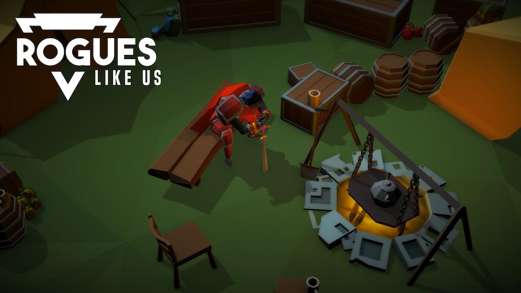 Rogues Like Us || 3D Hack n' Slash Roguelike project video thumbnail