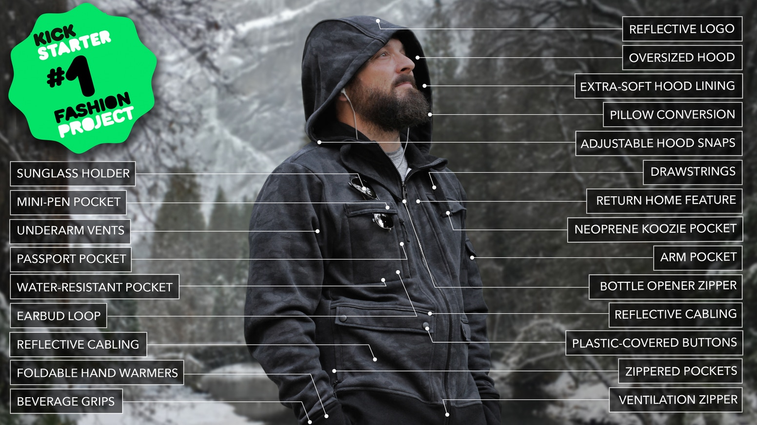 Check out the NEW American-Made Adv3nture Hoodies. The campaign is LIVE now!