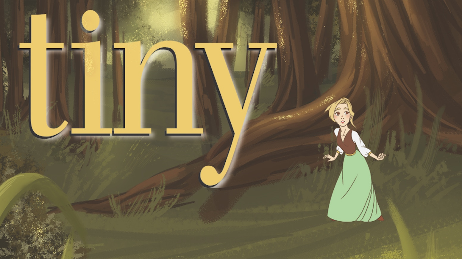 Tiny is a loose comic adaptation of the classic fairy tale, Thumbelina, by Hans Christian Andersen.