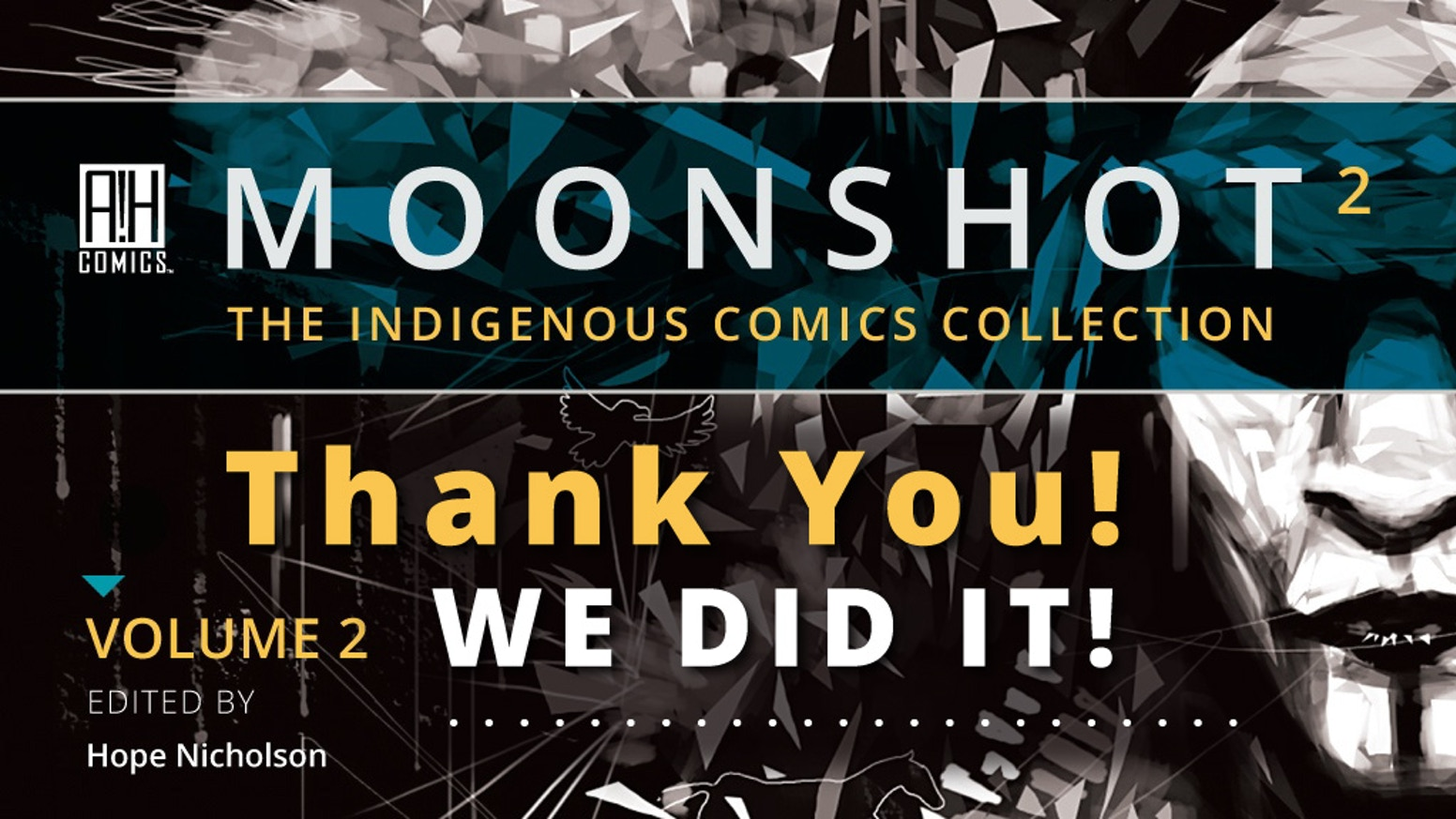 The multiple award-winning MOONSHOT The Indigenous Comics Collection is back with a brand new volume of incredible stories!