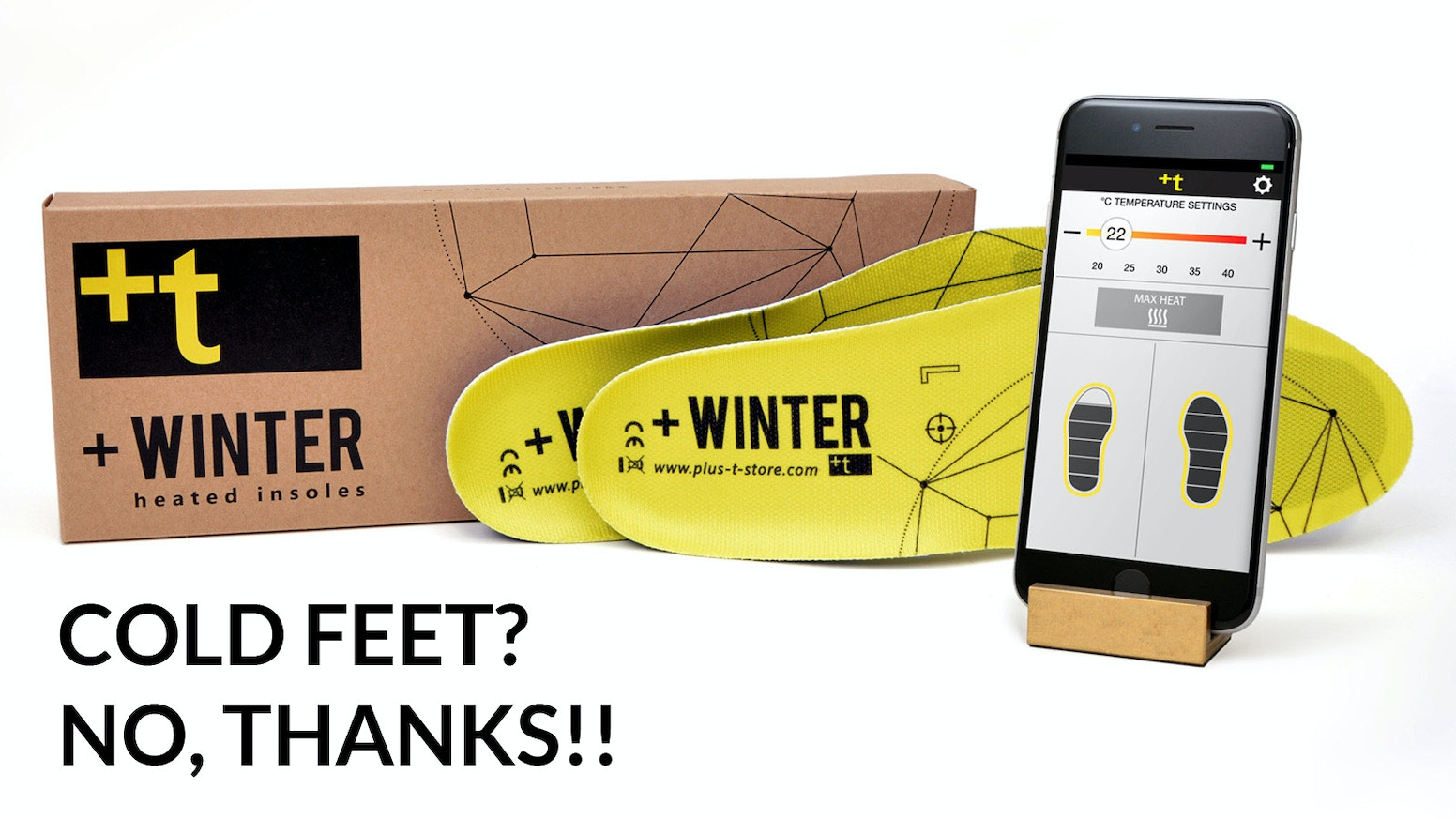 +Winter insoles are controlled with APP, splashproof, incredibly light and wafer-thin: turn them on and enjoy the most amazing warmth!