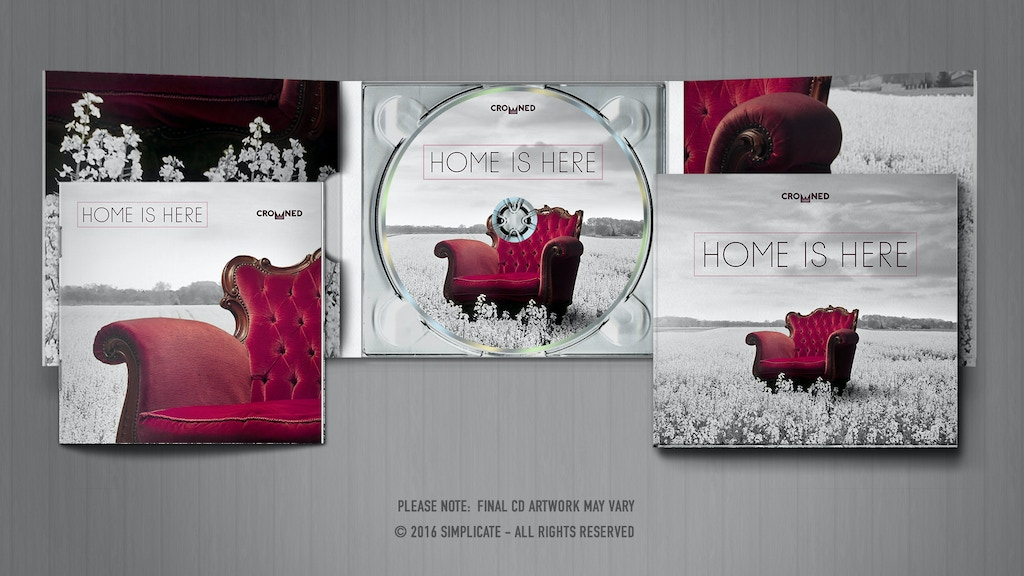 'Home is Here' - A Worship Album from Crowned project video thumbnail