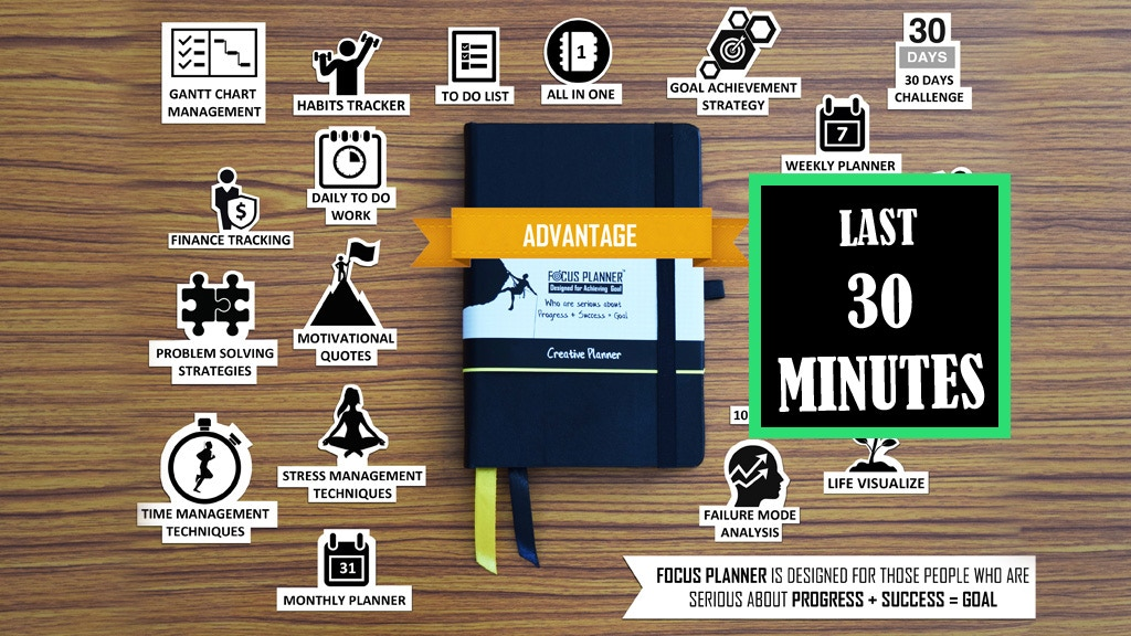 The Focus Planner: Best Designed Planner for achieving goals project video thumbnail