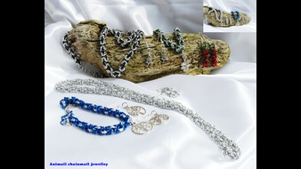Chainmail jewellery medieval modern day fashion