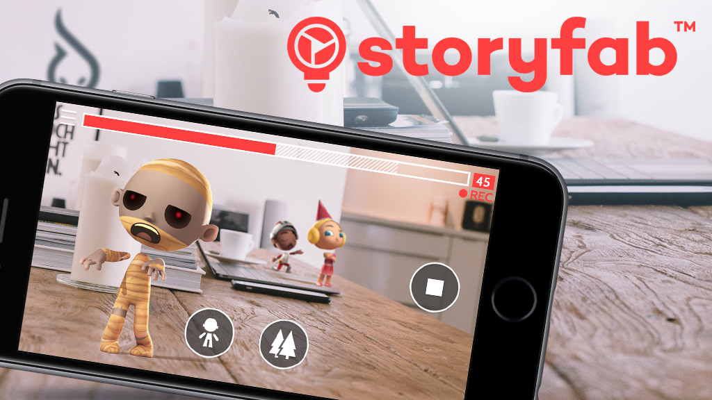 Storyfab - Augmented Reality to create short films project video thumbnail