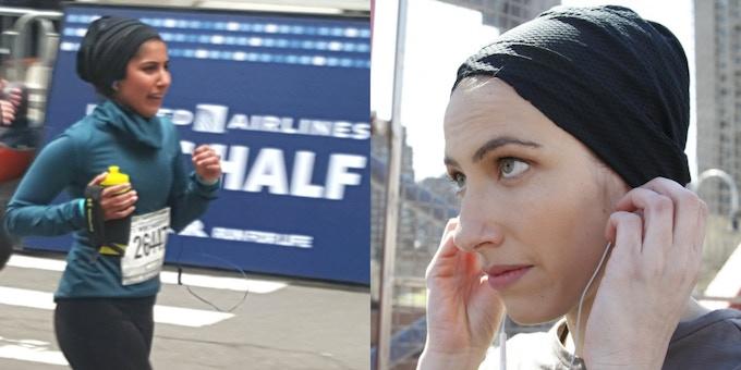 the up-do hijab