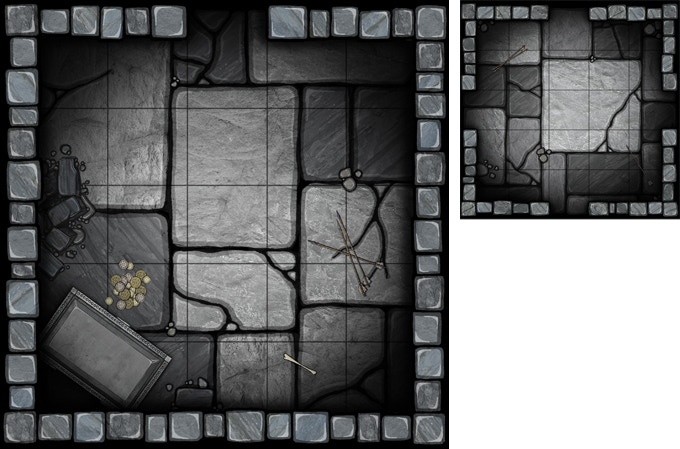 Dungeon Set 2 (top view)