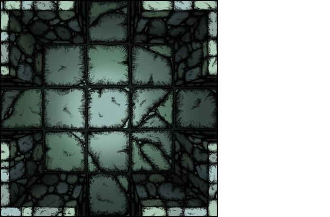 Crypt Set (bird's eye view)