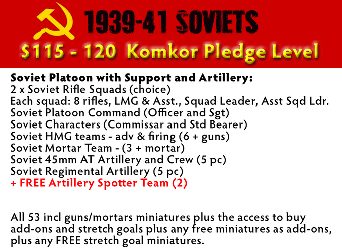 Komkor (Colonel-General) Pledge Level