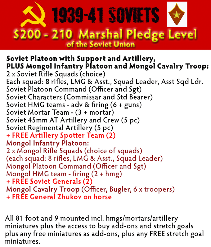 Marshal of the Soviet Union Pledge Level