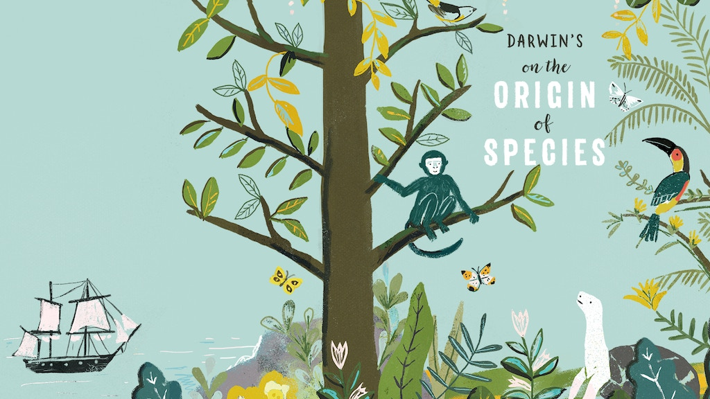 Darwin's On the Origin of Species: A Picture Book Adaptation project video thumbnail