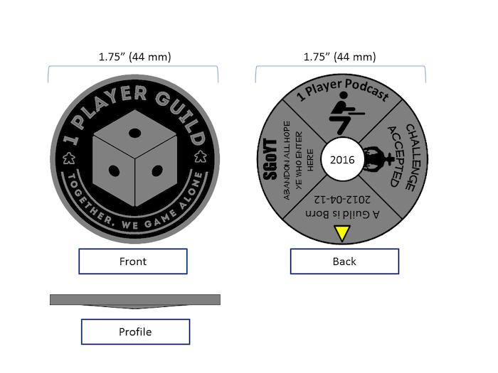 BGG 1 Player Guild Challenge Coin by Albert Hernandez » Start of the