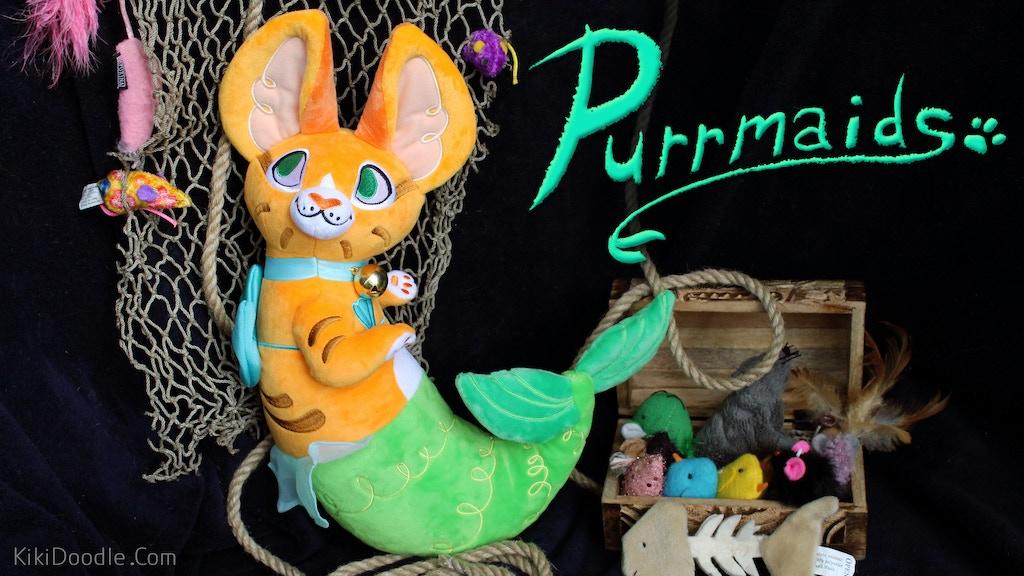 The Purrmaid: A Mermaid Cat Plush project video thumbnail
