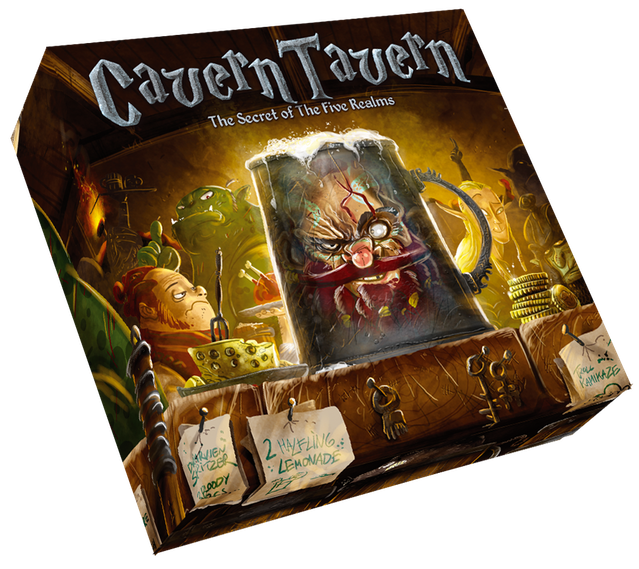 A beautifully designed worker placement board game set in a fantasy tavern filled with Dwarves, Elves, Halflings and Trolls.