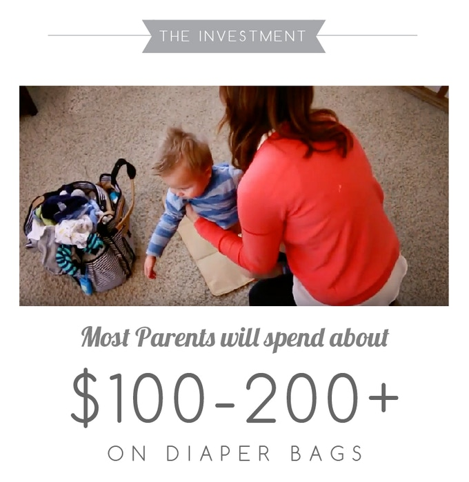 And spend ANOTHER $100-200 on because they aren't satisfied with their diaper bags